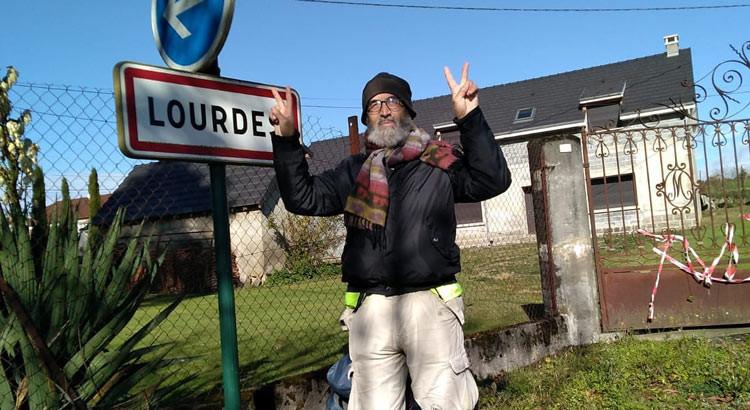 Rocco Rinaldi è arrivato a Lourdes