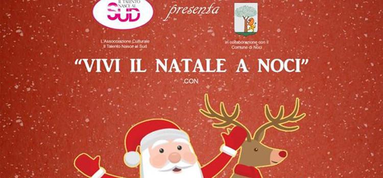 Vivi il Natale a Noci con Santa Claus