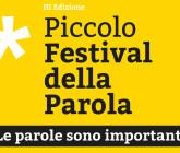 Conclusa la 3^ edizione del Piccolo Festival della Parola