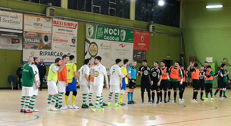 C5 maschile: il Futsal Noci si aggiudica il derby biancoverde