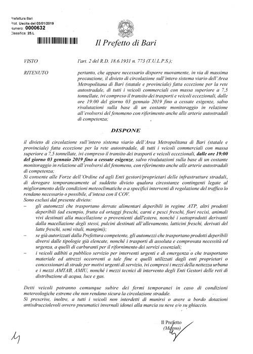 OrdinanzaDivietoCircolazioneBari03gen2019f-2