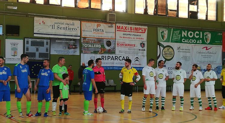 Vittoria in rimonta sul Fasano per il Noci Calcio a Cinque
