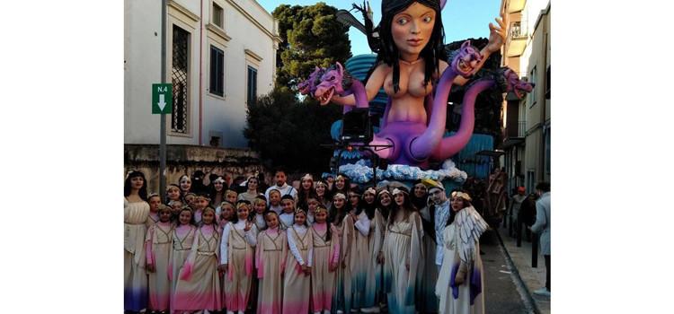 La Ballet School di Danica Pettinato al Carnevale di Putignano