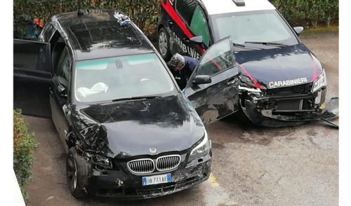 I Carabinieri della Compagnia di Triggiano intercettano a Capurso la banda della BMW. Arrestato un pregiudicato 23enne albanese.