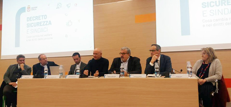 Decreto Sicurezza: se ne è parlato il 20 febbraio a Bari