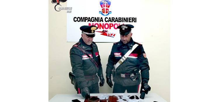 I Carabinieri della locale Compagnia arrestano un pusher per spaccio di cocaina all'interno di un locale della movida