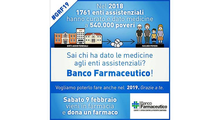 Noci Banco Solidale: il 9 febbraio la giornata del farmaco