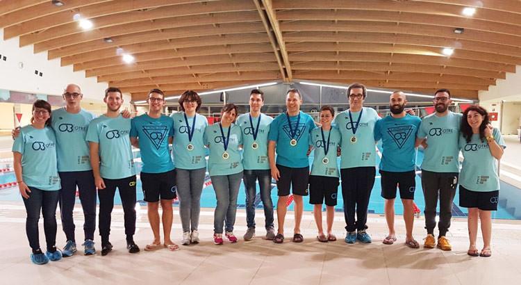 Nuoto Master: Otrè ancora 6 medaglie ai Campionati Regionali FIN Puglia