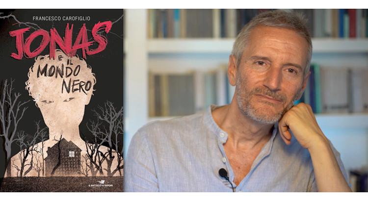 """Io leggo, tu leggi, noi leggiAMO"": Francesco Carofiglio presenta il suo romanzo ""Jonas e il mondo nero"""