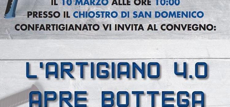 """Convegno """"Artigiano 4.0 apre bottega"""""""
