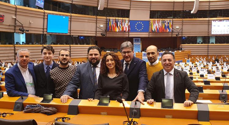 """Il Parlamento Europeo ospita il movimento civico """"Officina Civica"""""""