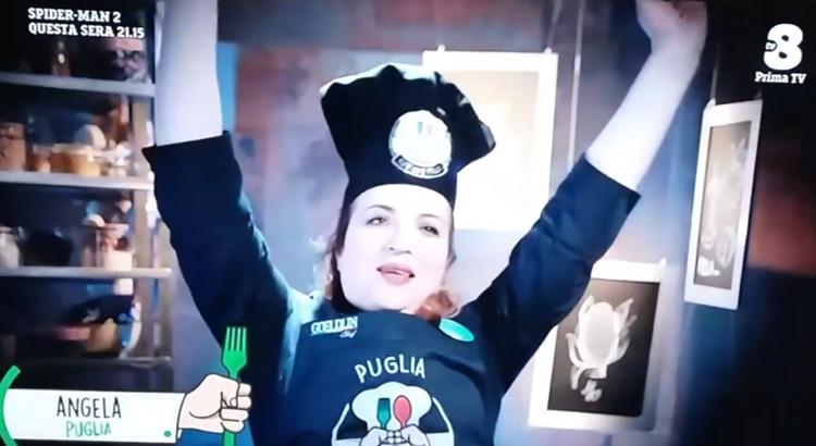 Trionfo della nocese Console: è lei la miglior cuoca regionale d'Italia