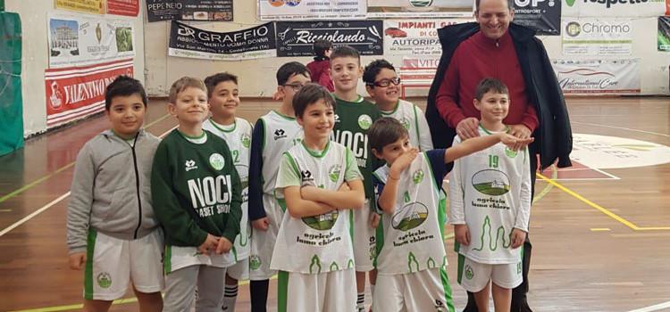 Basket School Noci al 1° Concentramento Scoiattoli di Castellaneta