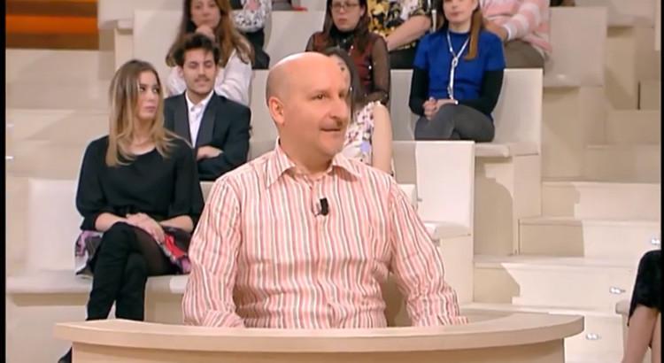 """Il nocese Fabrizio Loperfido a Forum: """"la variante ironica e brillante"""" della puntata"""