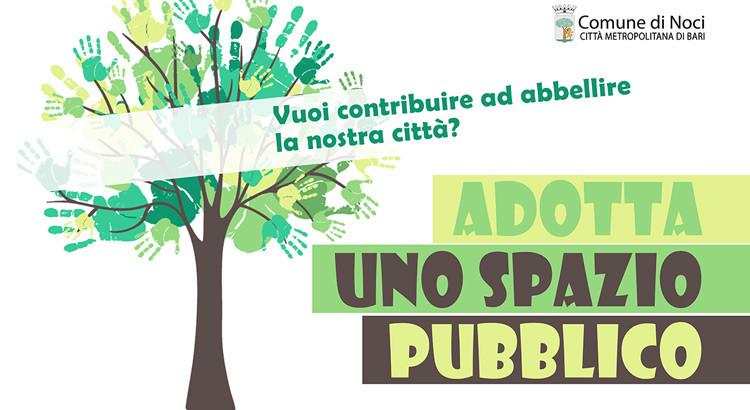Vuoi contribuire ad abbellire la nostra città? Adotta uno spazio pubblico!