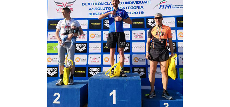 L'insuperabile otrino Michele Insalata è: il campione italiano di duathlon classico