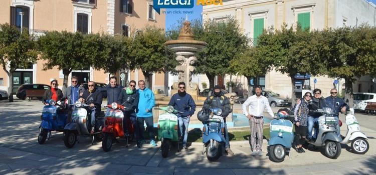 Il Vespa Club allarga i suoi orizzonti a Noci