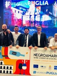 Noci protagonista a Roma al Negroamaro Wine Event