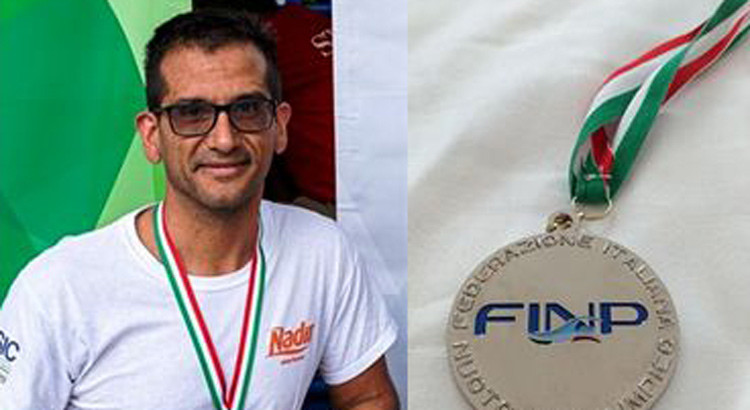 Nuoto paralimpico: argento per Recchia ai campionati italiani assoluti estivi