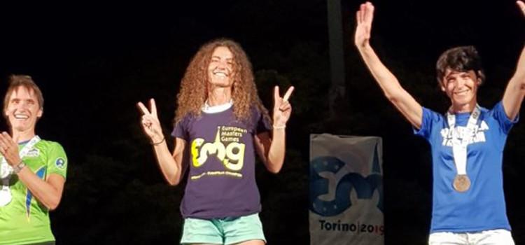 Valeria Gabriele agli European Master Games 2019 di Torino