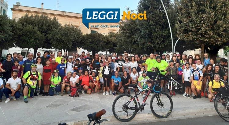 """""""Bici sotto le stelle"""": 128 bikers per la ciclo-passeggiata notturna"""