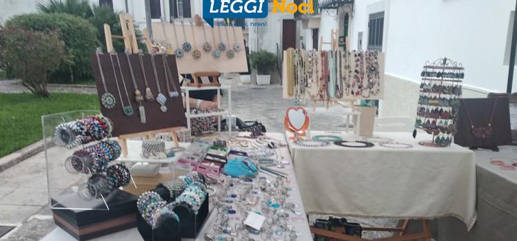 Il centro storico nocese ospita mercatini di artigianato e antiquariato