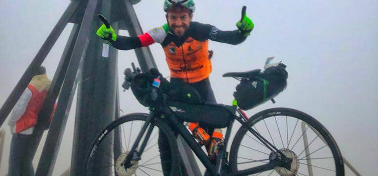 Natale Gentile: da Torino a Capo Nord in 15 giorni in sella alla sua bici
