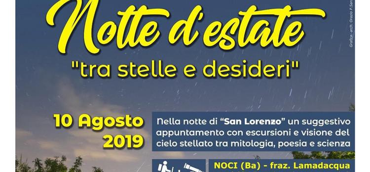 San Lorenzo con Puglia Trek&Food: escursione e lettura del cielo