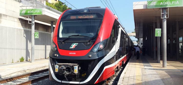 """Bari – Putignano tratta """"Via Casamassima"""": debutta il treno elettrico"""