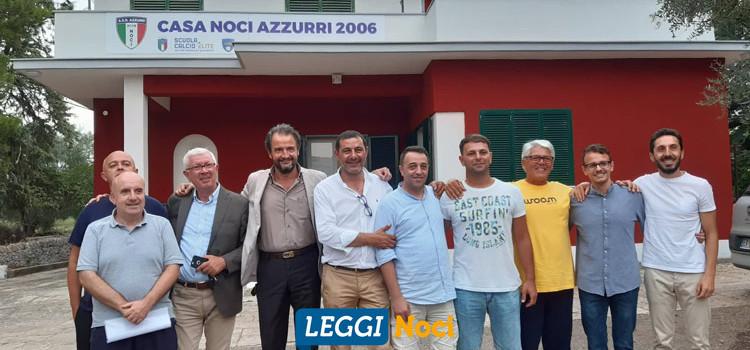 Noci Azzurri 2006: presentato il nuovo progetto societario, non solo sport