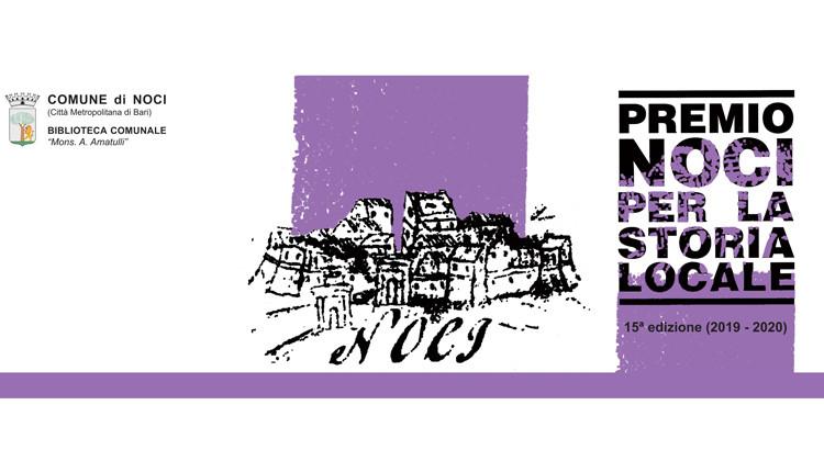 Premio Noci per la storia locale: indetta la 15^ edizione
