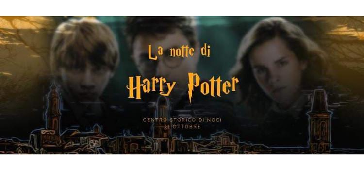 La notte di Harry Potter: il 31 ottobre il centro storico nocese si trasformerà in Hogwarts