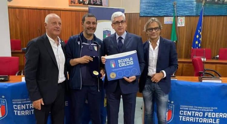 """Noci Azzurri 2006: arriva il riconoscimento come Scuola di Calcio """"Élite"""""""