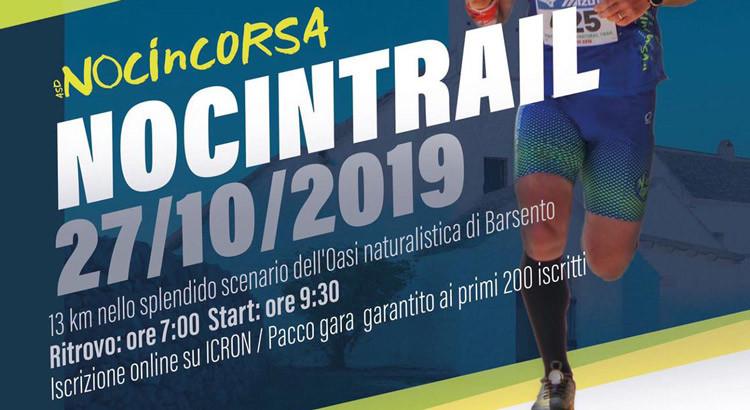 Nociintrail: 13 km di corsa nell'oasi naturalistica di Barsento