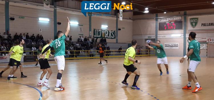 Noci Pallamano: netta vittoria nel derby d'esordio