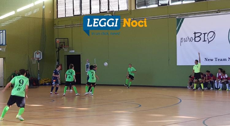Prima sconfitta per la puroBIO Noci: goleada del Falconara