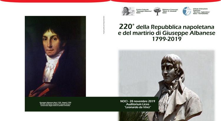 220° della Repubblica napoletana e del martirio di Giuseppe Albanese
