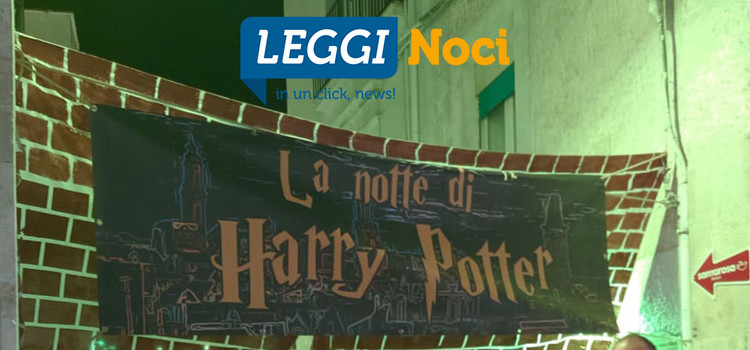 La magia di Harry Potter ha invaso Noci nella notte di Halloween