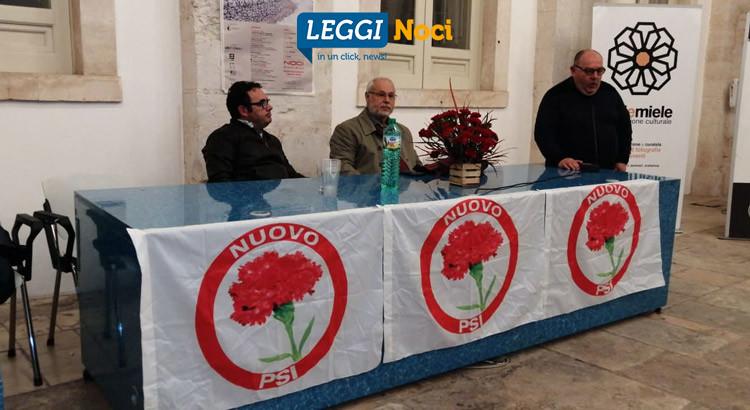 """Presentato il """"Nuovo Partito Socialista Italiano"""", progetto di una sede a Noci"""