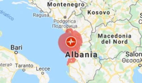 Forte terremoto in Albania, la scossa ha svegliato anche i nocesi