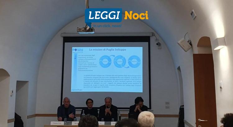 Puglia Sviluppo: incontro formativo a Noci per conoscere le opportunità di finanziamento per le imprese