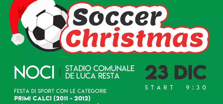 Soccer Christmas: festa di sport per i più piccoli