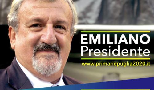 Primarie: Michele Emiliano domani a Noci