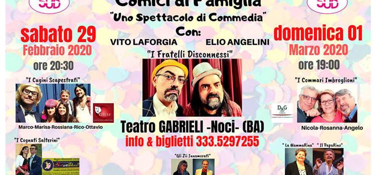 """Torna """"Il Talento Nasce al Sud"""" con """"Uno Spettacolo di Commedia"""""""