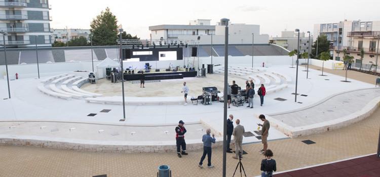 Videosorveglianza presso l'Anfiteatro comunale e il Mu.Ra.: finanziato progetto