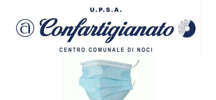 Donazione di mascherine dalla Confartigianato Noci