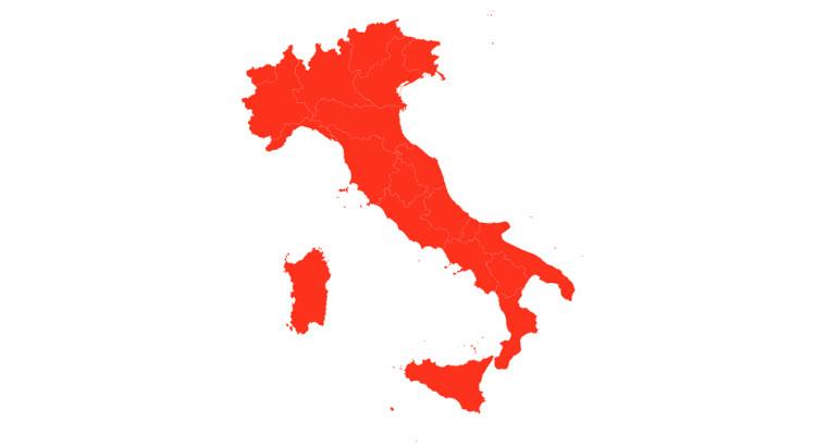 Tutta Italia è zona rossa, scuole chiuse e divieto spostamenti
