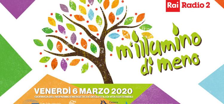 M'illumino di meno: il Comune di Noci aderisce alla Giornata del risparmio energetico e degli stili di vita sostenibili promossa da Caterpillar e Radio 2