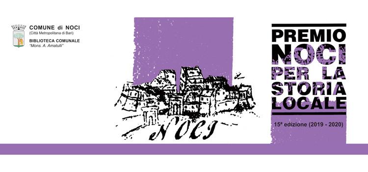 Premio Noci per la storia locale: in corso la 15^ edizione