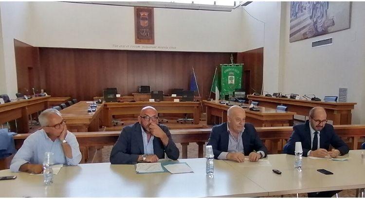L'Assessore Regionale Giannini a Noci